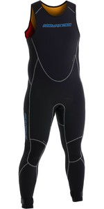 Neil Pryde Heren Elite Firewire 3mm Long John Wetsuit 630203 - Zwart / Carbon