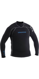 Neil Pryde Mens Elite Firewire 3mm Long Sleeve Top 630204 - Black / Carbon
