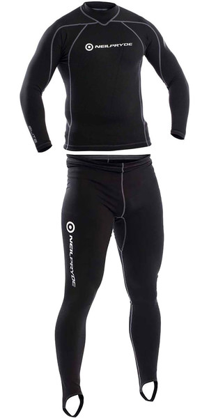 2018 Neil Pryde Thermalite Mid Layer Top & Trouser Combi Black