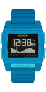2021 Nixon Base Tide Pro Surf Watch 1543-00 - Safira