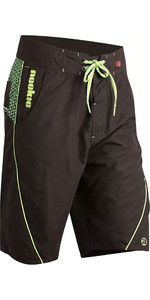 2020 Nookie Boardies Boardshorts Negro / Verde Sw010