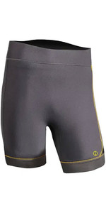 2020 Nookie Short Stride 3mm Gbs Néoprène Short NE60 - Gris / Jaune