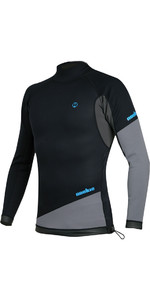2019 Top A Maniche Lunghe In Neoprene Nookie Ti 1mm Nero / Grigio / Ciano Ne10