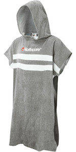 2020 Northcore Beach Basha Changing Robe Grey Stripes NOCO24L