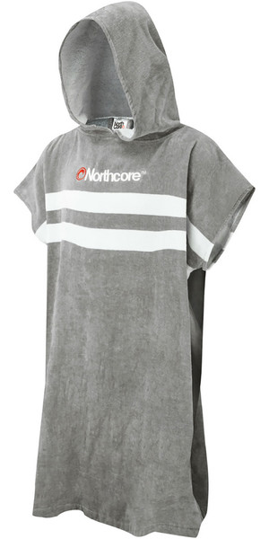 2019 Northcore Beach Basha Changing Robe Grey Stripes NOCO24L
