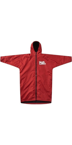 2018 Northcore Beach Basha Pro 4 Season Changing Robe RED NOCO24J