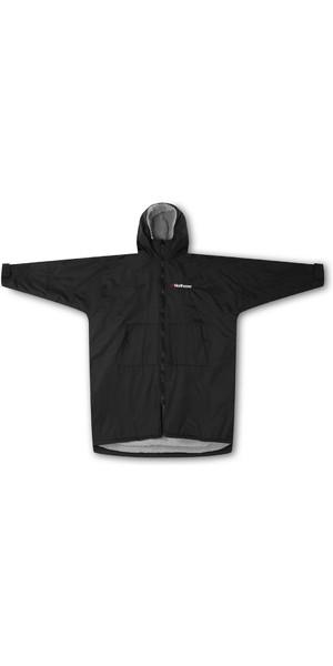2019 Northcore Plage Basha Sport à manches longues Changer Robe noire NOCO24O