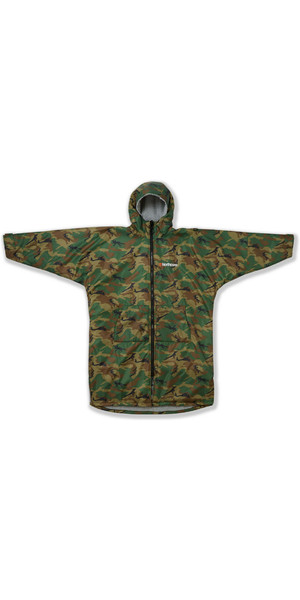 2019 Northcore Beach Basha Sport Long Sleeve Changing Robe Camo NOCO24P