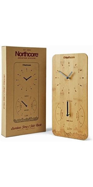 2018 Northcore murale Bamboo Time & Tide Clock NOCO88D