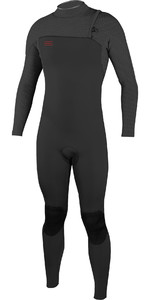 2019 O'Neill Mens HyperFreak Comp 3/2mm Zipperless Wetsuit Gaphite 4970