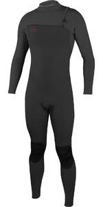 2019 O'Neill Mens HyperFreak Comp 3 / 2mm Zipperless Wetsuit Gaphite 4970