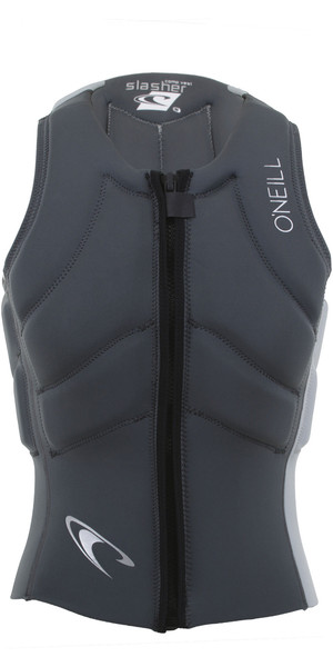 2019 O'Neill Mens Slasher Kite Impact Vest Graphite / Cool Grey 4942EU