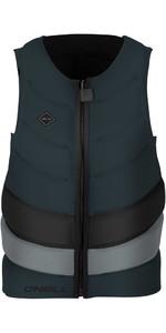 O'neill Gooru Tech - Front Zip - Front Zip Comp Schutzweste Schiefer / Kühles Grau 4916eu