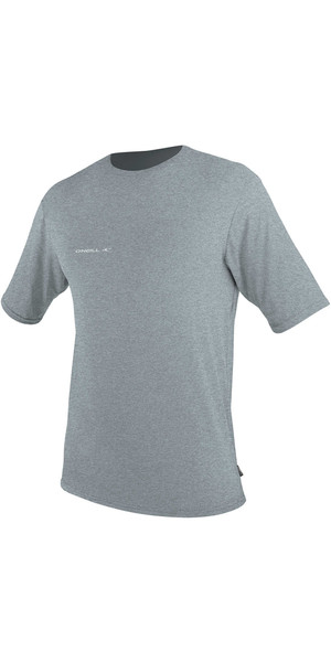 2018 O'Neill Hybrid Tee-shirt surf à manches courtes COOL GREY 4878
