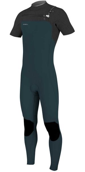 Muta pantalone manica corta SLS / NERO 5066 a manica corta con cerniera lampo O'Neill Hyperfreak da 2 mm