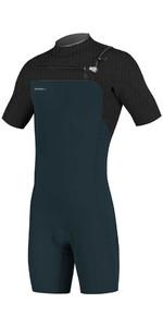 O'Neill Hyperfreak 2mm Chest Zip GBS Shorty Wetsuit SLATE / BLACK 5036 2ND