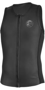 2020 O'neill O'riginal 2mm Front Zip Neopren Vest Sort 5079