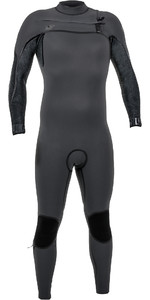 O'Neill Psycho One 4/3mm Chest Zip Wetsuit Jet Camo 4967
