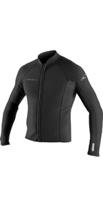 2020 O'Neill Reactor II 1.5mm Néoprène Front Zip Jacket Black 5046
