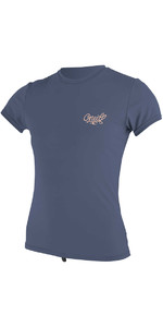 O'Neill Womens Premium Skins Short Sleeve Rash Tee MIST 4898
