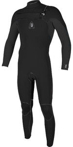 2019 O'neill Jack O'neill Legend Traje De Neopreno Con Chest Zip 4.5 / 3.5mm 5217 - Negro