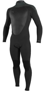 2021 O'Neill Mens Epic 3/2mm Back Zip GBS Wetsuit 4211B - Black / Gunmetal