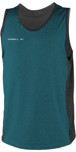 2019 O'Neill Herre Hybrid Tank Top Teal / Sort 4877