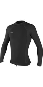 2020 O'Neill Mens Hyperfreak 0.5mm Neo / Skins Long Sleeve Top 5035 - Black