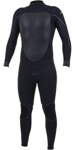 2019 O'Neill Mens Psycho Tech+ 5/4mm Back Zip Wetsuit 5361 - Black