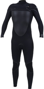 2019 O'Nill Psycho Tech + 5/4mm Wetsuit Met Chest Zip Zwart 5365