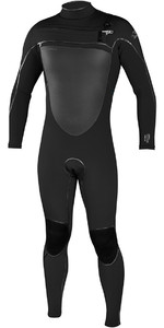 2019 O'Neill Psycho Freak 5/4mm Chest Zip Wetsuit BLACK 4984