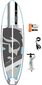 "2020 Smart S O'neill 9'4 X 32"" Gonflable Compact Sup Board , Sac Et Laisse - Bleu"