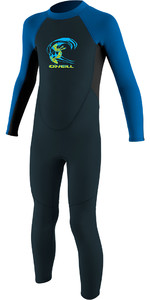 2019 O'neill Peuter Reactor 2mm Back Zip Wetsuit Lei / Aqua 4868