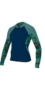 2019 O'neill Frauen Bahia 1mm Full Zip Langarm 1mm Abyss / Faro 4933