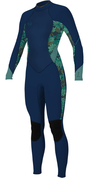 2019 O'Neill Bahama's 3 / 2mm back Zip Wetsuit Abyss / Faro 5292