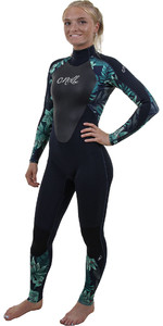 2019 O'Neill Womens Epic 3 / 2mm GBS back Zip Wetsuit Abyss / Faro 4213