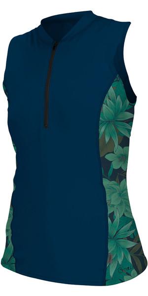 2019 O'Neill Damefront Zip Cap Mule Sol Shirt Abyss / Faro 5307S
