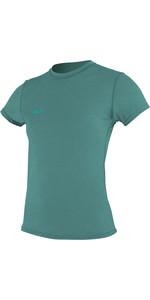 Tee-shirt De Surf Femme Hybrid Manches Courtes 2019 O'neill Eucalyptus 4675