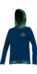 2019 O'Neill damessweater met lange mouwen en capuchon Abyss / Faro 5311S