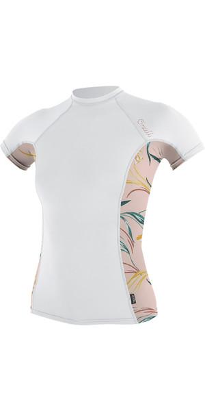 2019 O'Neill Gilet sans manches à imprimé latéral pour femmes, blanc / Claris 5309S