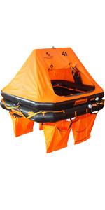 Ocean Safety Océan, Radeau De Sauvetage Standard Pour 4 Personnes - Valise