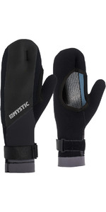2019 Mystic 1.5mm Geopend Palm Mitten Black 170.175