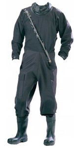 Typhoon Patrolmans Transpirable Industrial Comercial Drysuit Negro 120102
