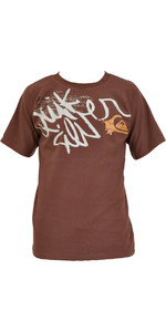 Quiksilver Paulo Technical Surf Tee BROWN T032MS