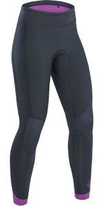 2019 Palm Blaze Womens 3 mm GBS Wetsuit Pantalones Jet Gray 12233