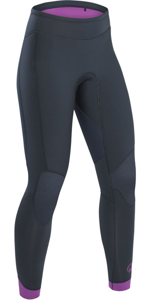 2019 Palm Blaze Womens 3mm GBS Wetsuit-broek Jet Grey 12233