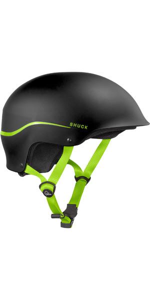Palm Shuck Half-Cut Helm Schwarz 12131