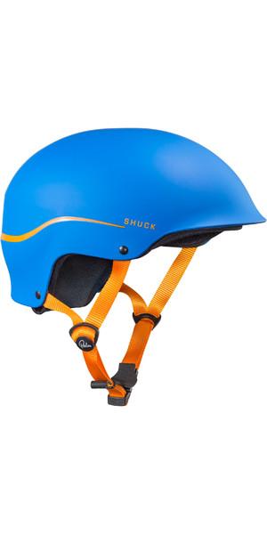Palm Shuck Half-Cut Helm Blau 12131