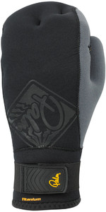 2019 Palm Talon 2mm Ouvert Palm Mitts - Noir 10502