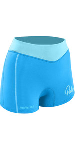 2019 Palm Damen 0,5 mm NeoFlex Shorts Aqua 12191